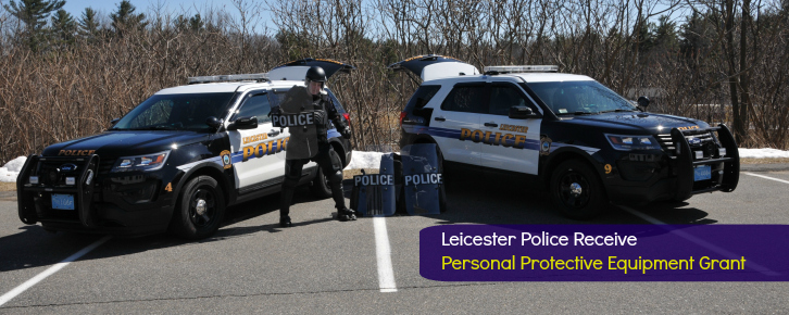 Leicester PD Grant Billboard