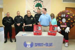 Lanesborough Police Department Receives Safety Grant from the Spirit of Blue Foundation