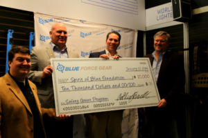 Blue Force Gear Donates $10,000 to Spirit of Blue Foundation