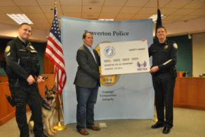 Beaverton Police Department Receives K9 Safety Grant from the Spirit of Blue Foundation