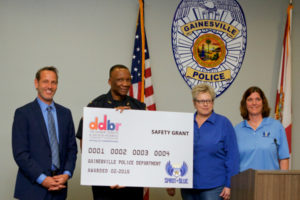 Gainesville Police Department Receives Safety Grant from the Spirit of Blue Foundation and Dunkin' Donuts