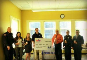 Holbrook Police Department Receives Safety Grant from the Spirit of Blue Foundation