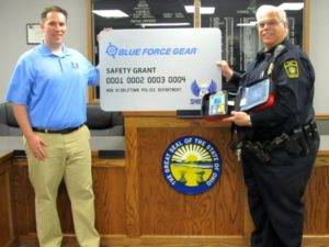 New Middletown Police Department Receives Safety Equipment Grant From The Spirit of Blue Foundation