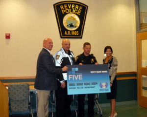 Revere Police Department Receives Safety Equipment Grant From The Spirit of Blue Foundation