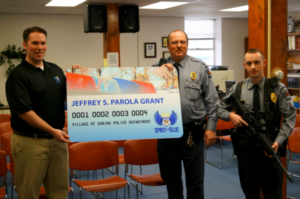 Village of Sabina Police Department Receives Safety Equipment Grant From The Spirit of Blue Foundation