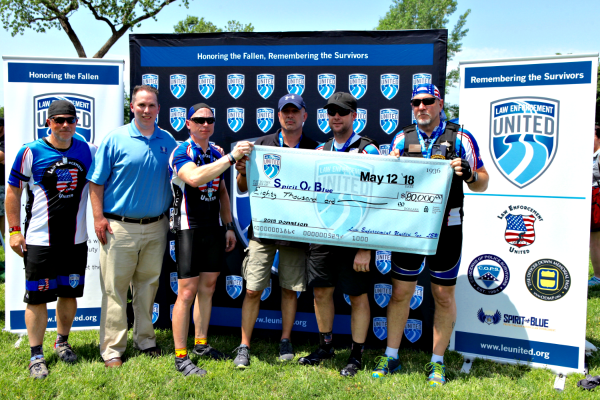 Spirit of Blue Foundation Receives $80,000 Gift From Law Enforcement United