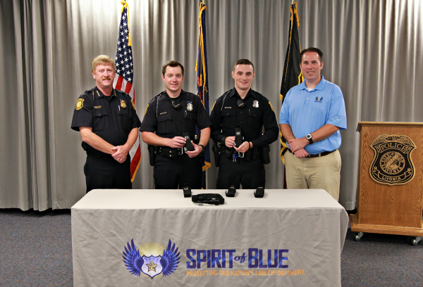 Livonia Police Department Receives Tourniquet Grant From The Spirit of Blue Foundation; One Life Already Saved.