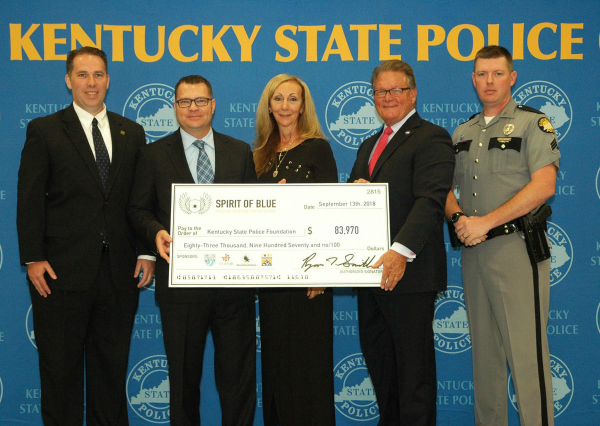 Spirit of Blue Awards Tourniquet Grant to Kentucky State Police in Memory of Fallen Trooper