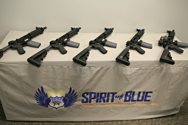 Michigan State Police Receives LMT Rifles from the Spirit of