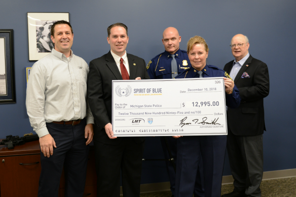 Michigan State Police Receives LMT Rifles from the Spirit of Blue Foundation