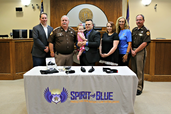 Marshall County S.O. Receives Tactical Rifles, Tourniquets After School Shooting Response