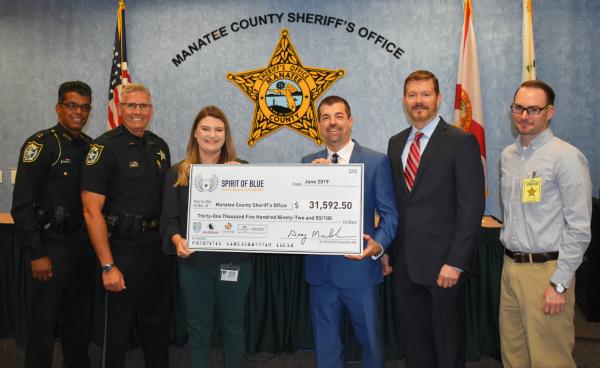 Spirit of Blue Grants Lifesaving Tourniquets to Every Manatee County Deputy
