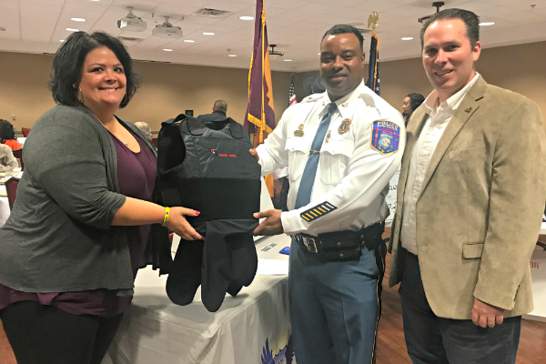 Spirit of Blue Grants First Ballistic Vests to Scooba Police Department