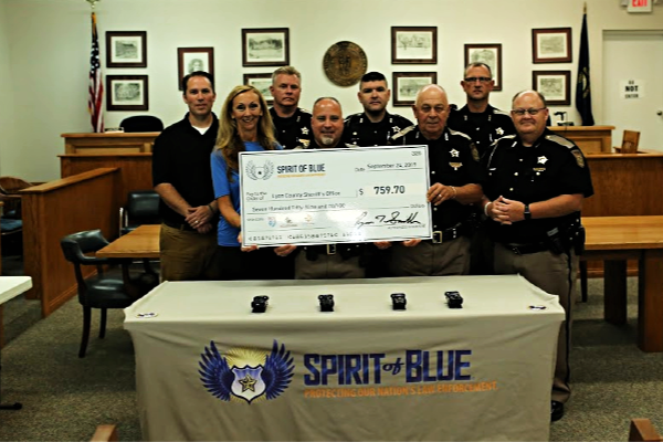 Spirit of Blue Awards Tourniquet Grant to Lyon County Sheriff's Office