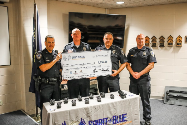Spirit of Blue Grants Tourniquets to Owensboro Police Department