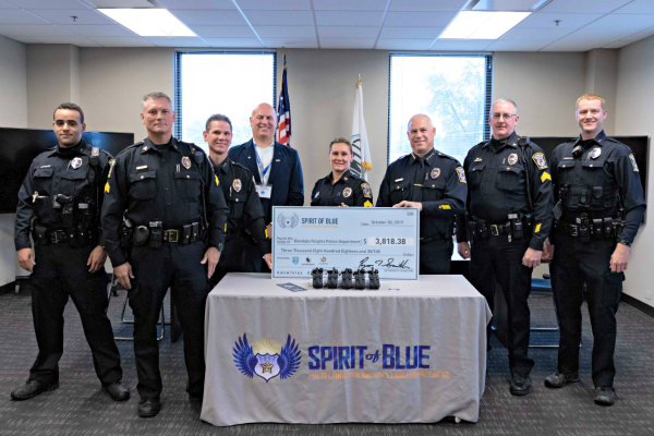 Spirit of Blue Awards Tourniquet Grant to Glendale Heights Police Department