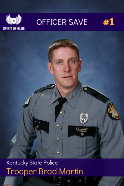 Kentucky State Police Trooper Saved With Granted Tourniquet From Spirit of Blue