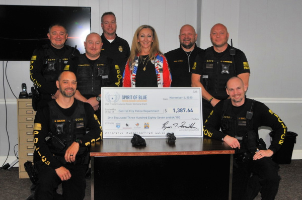 Central City Police Department Receives 2020 Trooper Cameron Ponder Memorial Grant